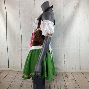 Leg Avenue Dresses - Gretchen beer wench Oktoberfest costume